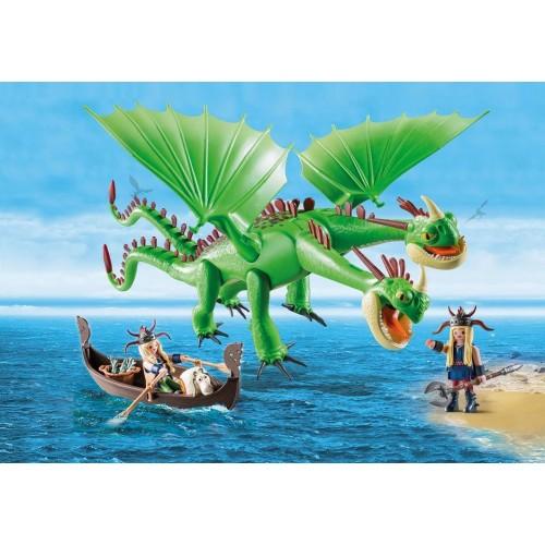 Dragón Dos Cabezas  con Chusco y Brusca