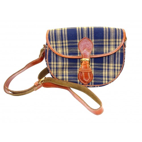 Bolso Tartan Country Blue