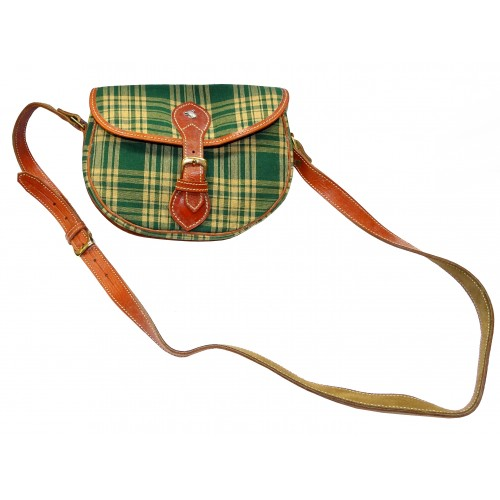 Bolso Tartan Country Green