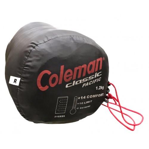 "Saco de dormir Coleman Classic Pacific ""Color Rojo"""