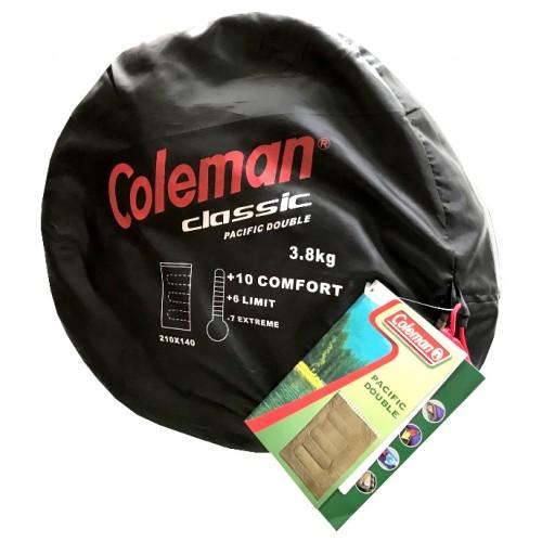 """Saco de dormir Coleman Doble """"Classic Pacific Double"""" Color """"Forest"""""""