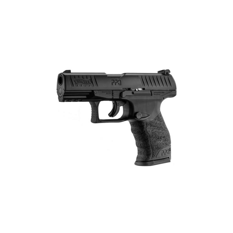 Set de Pistola de Defensa Walther PPQ Cal. 43  C02 + cargas y munición