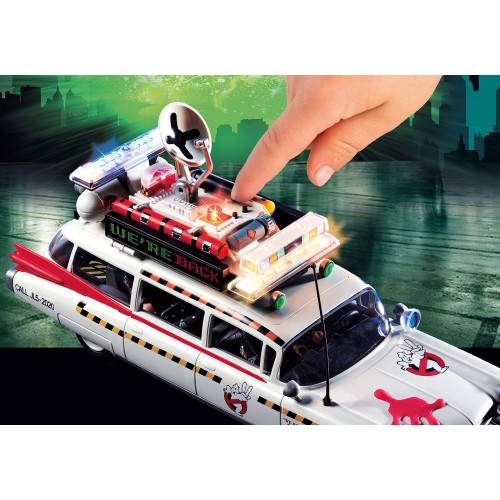 Ecto-1A Ghosbusters