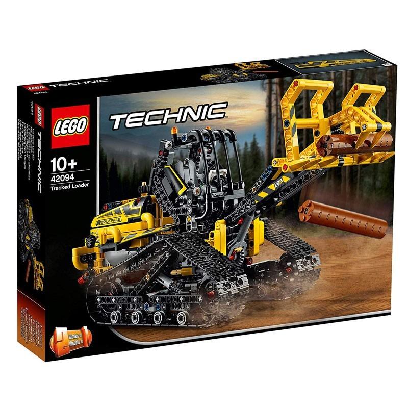 Lego 42094 Cargadora con orugas