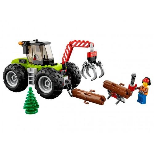 Lego 60181 Tractor forestal con operario