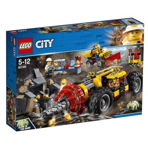 Lego 60186 Mina: Perforadora pesada