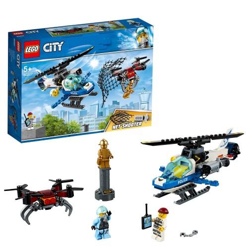 Lego 60207 Policía Aérea: A la caza del Dron