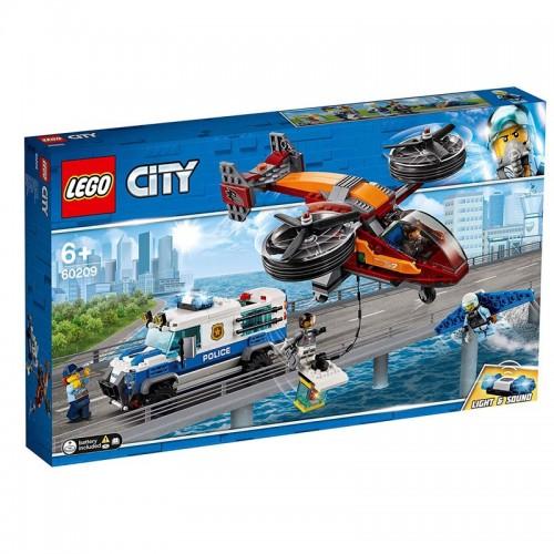 Lego 60209 Policía Aérea: Robo del Diamante