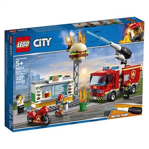 Lego 60214 Rescate del incendio en la Hamburguesería