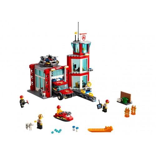 Lego 60215 Parque de Bomberos