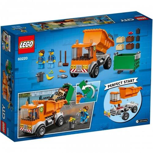 Lego 60220 Camión de la basura