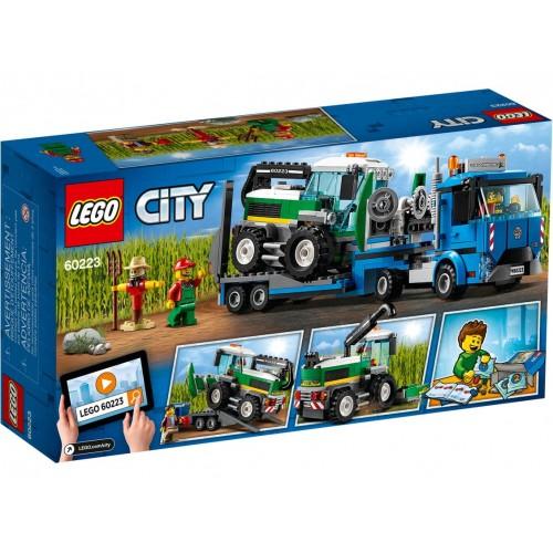 Lego 60223 Transporte de la Cosechadora