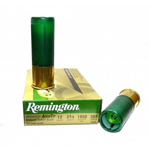 Remington AccuTip Cartucho de Bala Calibre 12