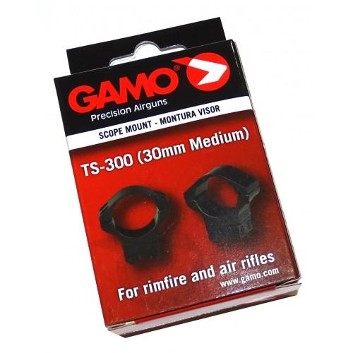 Monturas Gamo 30mm Altura media carril 11mm
