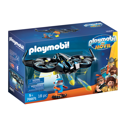 PLAYMOBIL: THE MOVIE Robotitron con Dron