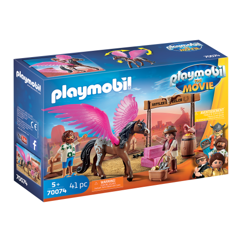 PLAYMOBIL: THE MOVIE Marla, Del y Caballo con Alas