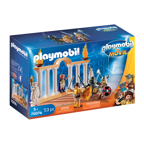 PLAYMOBIL: THE MOVIE Emperador Maximus en el Coliseo