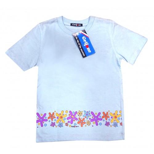 Camiseta de Niña Grifone Celeste Mountain