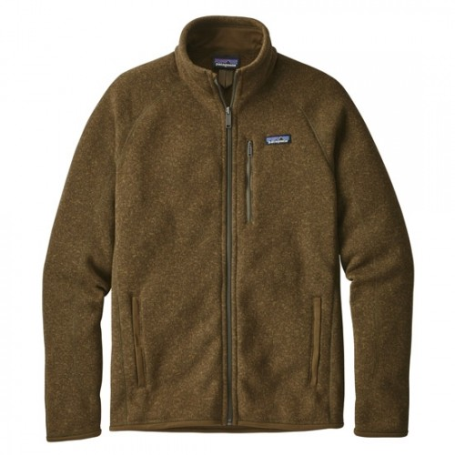 Patagonia Forro Polar Mens Better Sweater Jacket Brown