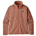 Patagonia Forro Polar para mujer Women´s Better Sweater Jacket Century Pink