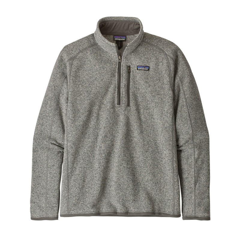 Patagonia Jersey 25523 Mens Better Sweater 1/4 Grey