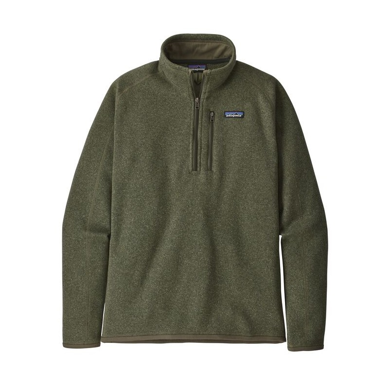 Patagonia Jersey 25523 Mens Better Sweater 1/4 Green