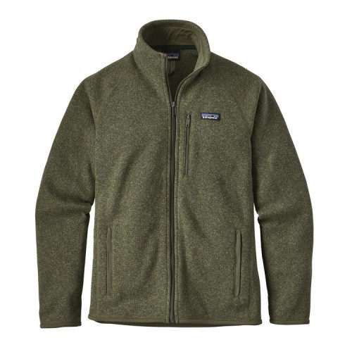 Patagonia Forro Polar Mens Better Sweater Jacket Green