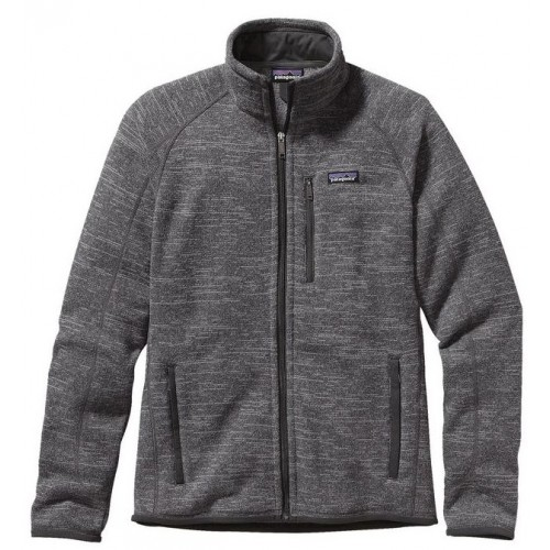 Patagonia Forro Polar Mens Better Sweater Jacket Nickel Grey