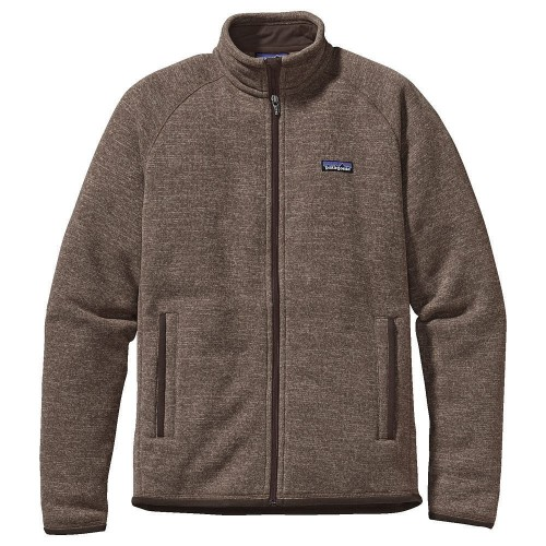 Patagonia Forro Polar Mens Better Sweater Jacket Khaki