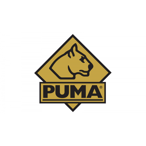 Funda de navaja Puma Black Leather