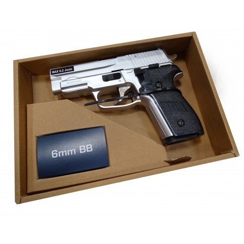 Pistola Airsoft Sig Sauer P228 Cromo