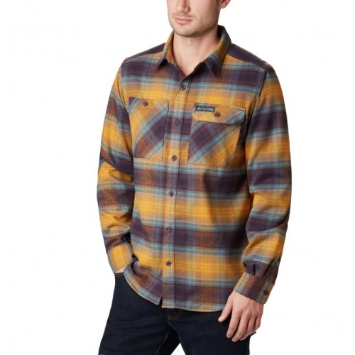 Camisa Columbia de franela Outdoor Elements para hombre