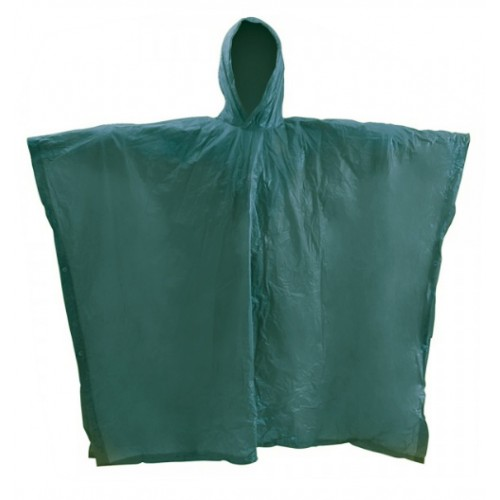 Poncho impermeable PVC
