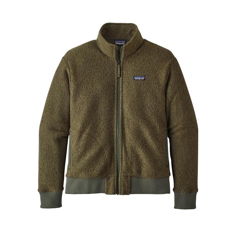 "Patagonia Polar M´s Woolyester Fleece Jacket ""Industrial Green"""