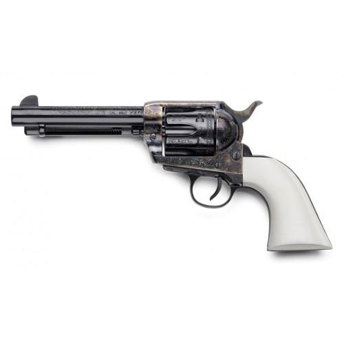 """Cattleman 1873 Bill Tilghman Engraved Luxe 45 Long Colt 5 1/2"""""""