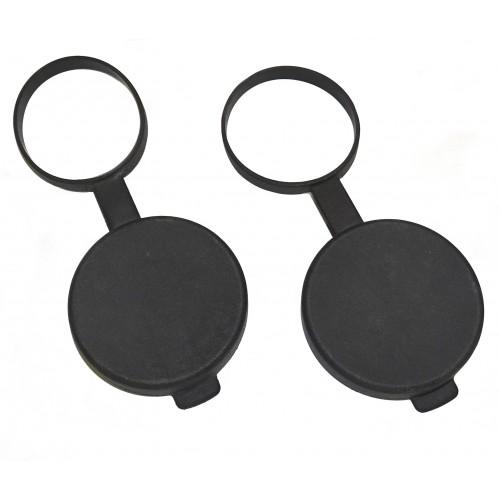Kahles Tapas de Objetivo Binocular / Prismáticos 8x42 / 10x42
