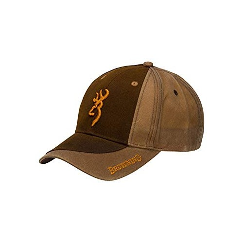 Gorra Browning encerada Two Tone Dark Brown