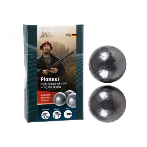 Bolas de Avancarga Premium H&N Pioneer Calibre .454