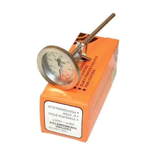 Termómetro especial para coladas de plomo