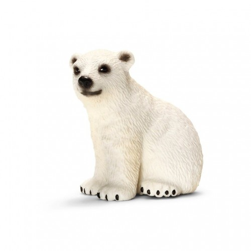 Schleich  Oso polar osezno sentado