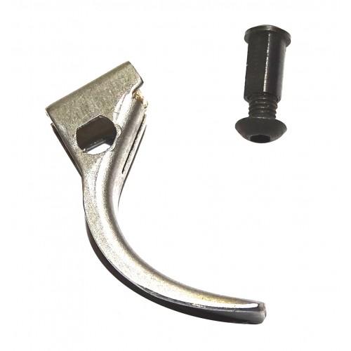 Fas 602 pieza nº 302 Cola de disparador Acero (gatillo) + tornillo + pasador