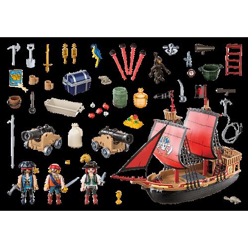 Barco Pirata Calavera