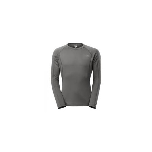 The North Face Warm Long Sleeve Crew Neck Negra y Gris
