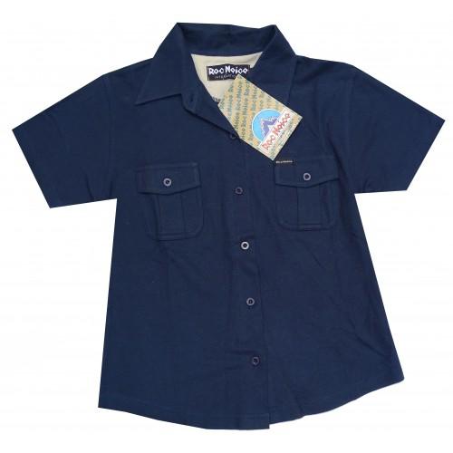 Roc Neige Polo camisa Yuca Blue Talla S