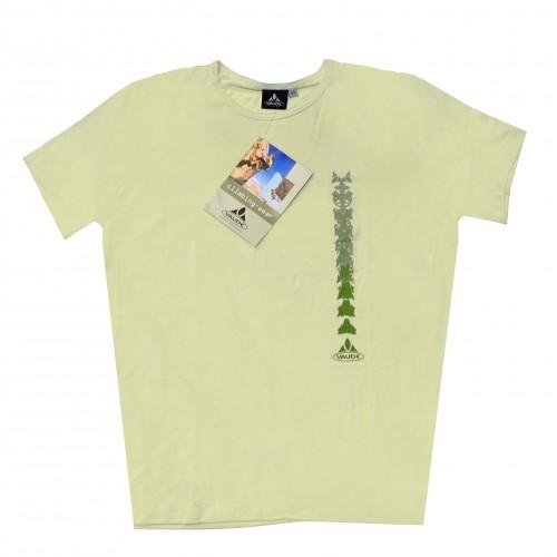 Camiseta Vaude Sange Beige hombre talla L