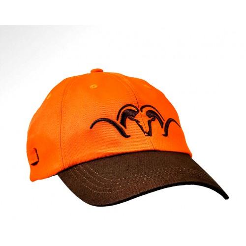 Blaser Gorra Brown/Orange Security Hunting
