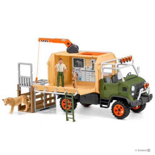 Schleich Gran camión de rescate