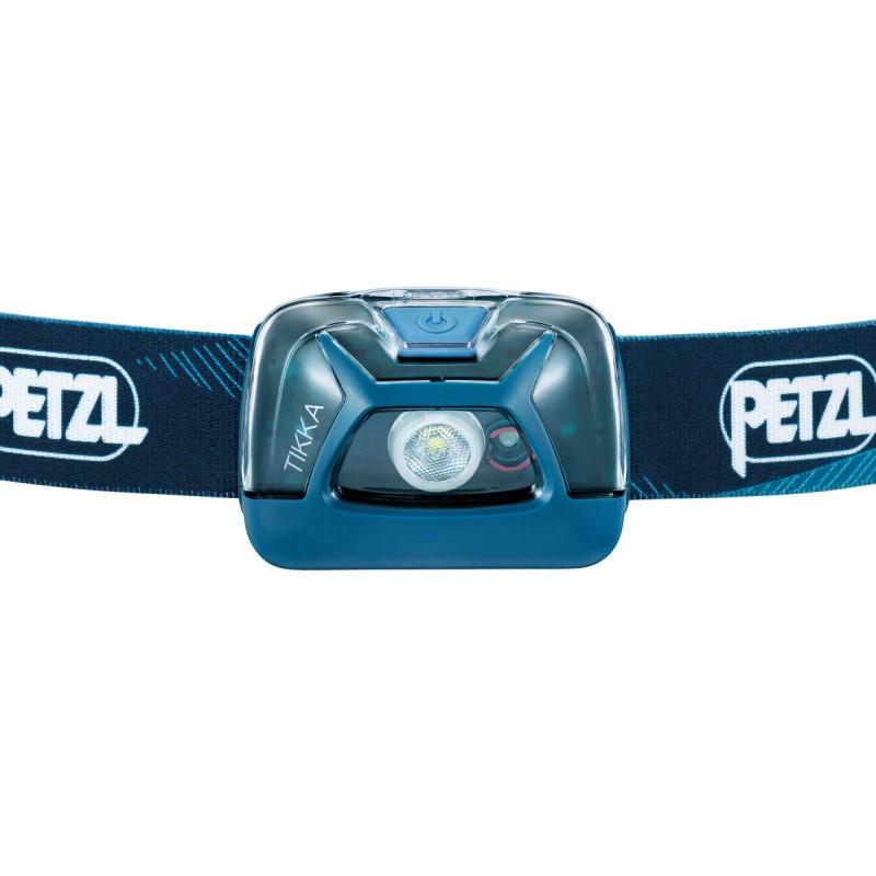Frontal Petzl Tikka Azul 300 lúmenes