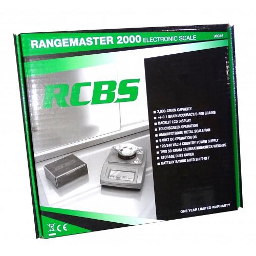 RCBS Rangemaster 2000 Balanza Digital Top Class