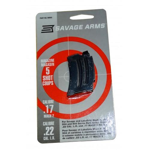 Savage Armas cargador 5 disparos .22lr / .17 Mach 2